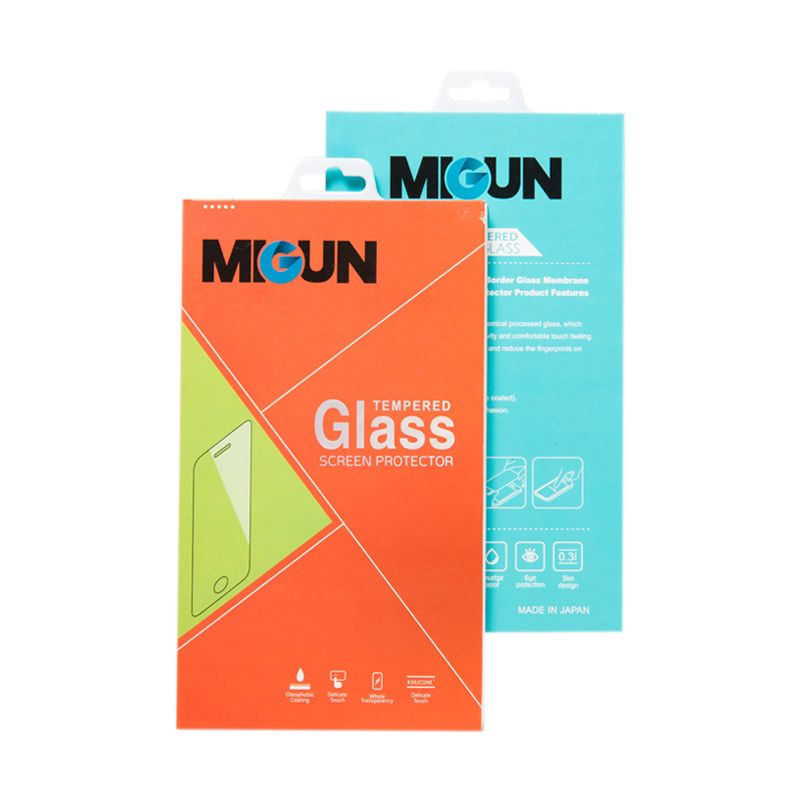 MIGUN Tempered Glass Screen Protector for iPhone [4/5/6/6+]
