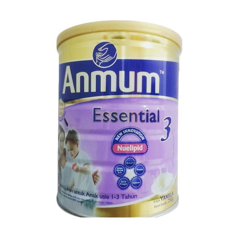 Anmum Essential 3 Rasa Vanila Susu Formula [750 gr]