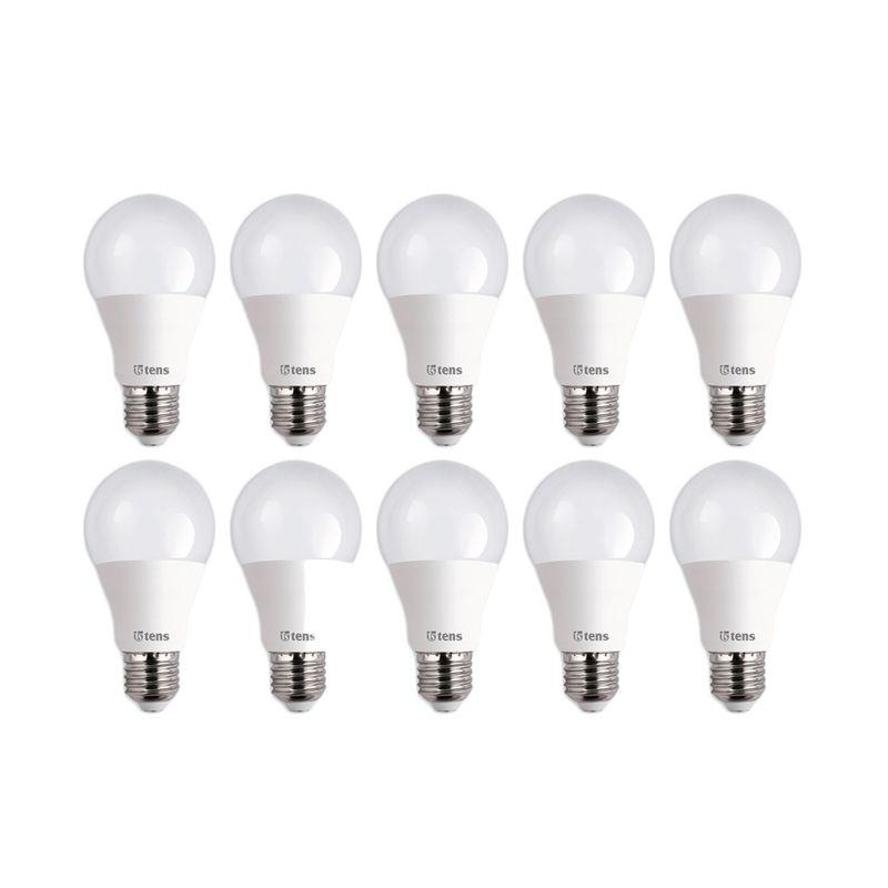 Tens LED Putih Lampu Bohlam [8 W / 10 Pcs]