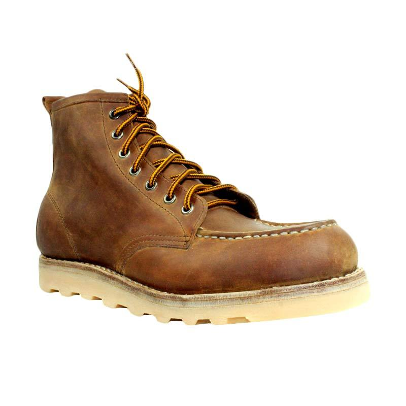 Million Boots Amber Brown