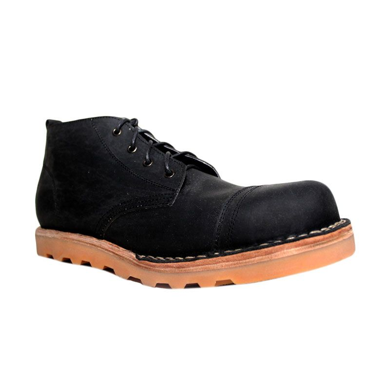 Million Safety Boots Rhodonite Black