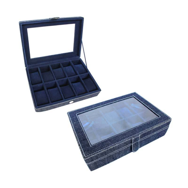 Grandby Watch Box Organizer 10 Jeans