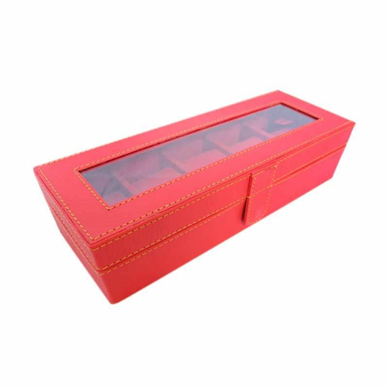 Grandby Kotak Jam Organizer 5 Merah