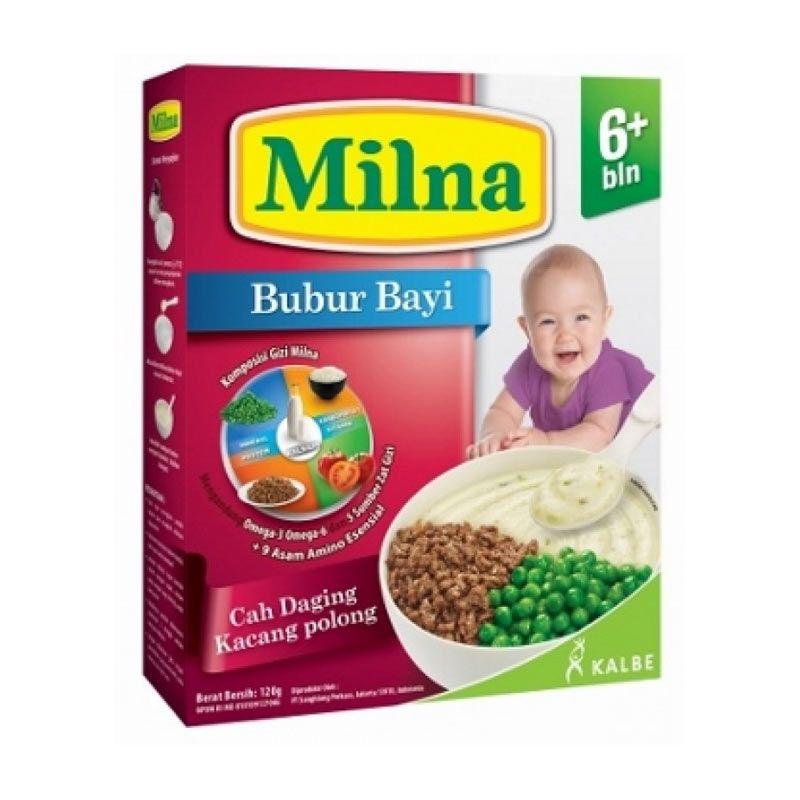 harga Milna Bubur Bayi Cah Daging Kacang Polong [120 gr] Blibli.com