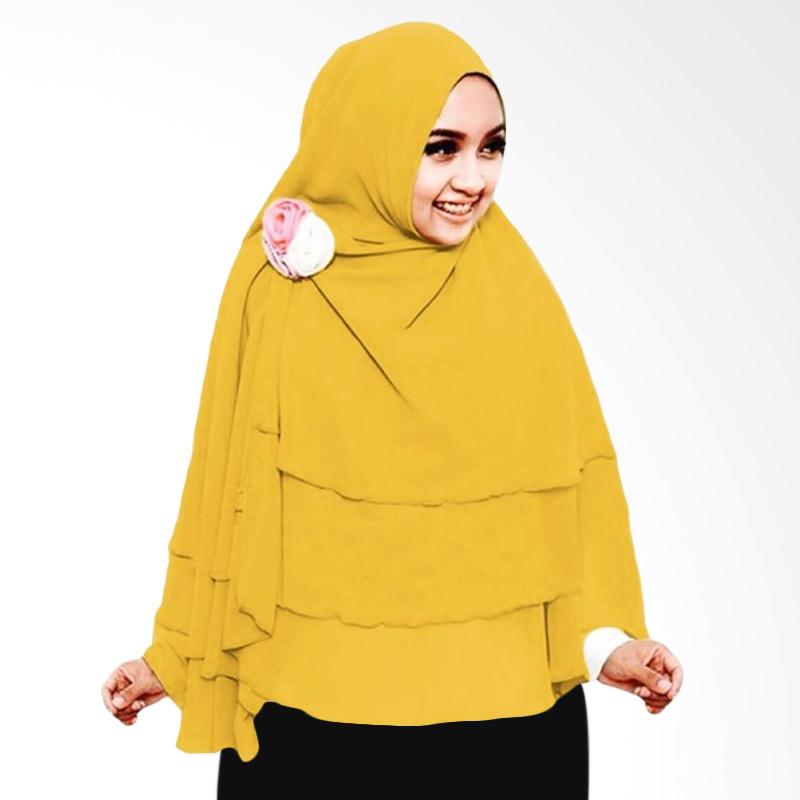 Milyarda Hijab 3 Layer Khimar - Kuning