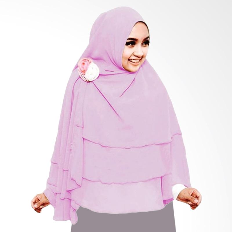 Milyarda Hijab 3 Layer Khimar - Lavender