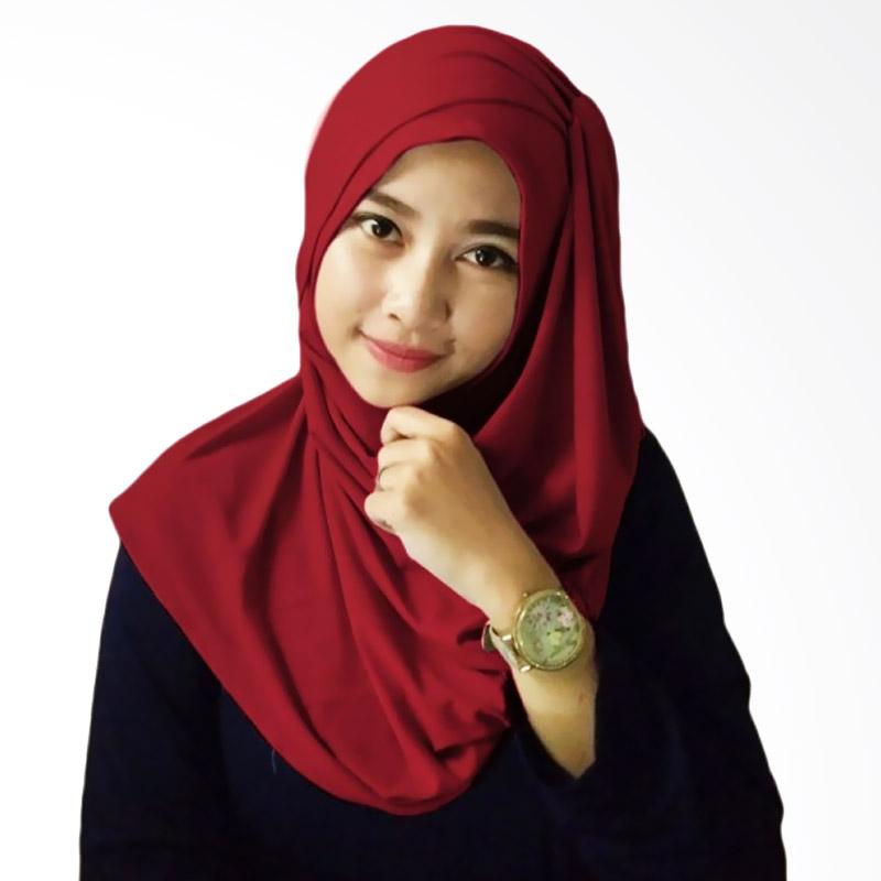 Milyarda Hijab Alesya - Maroon