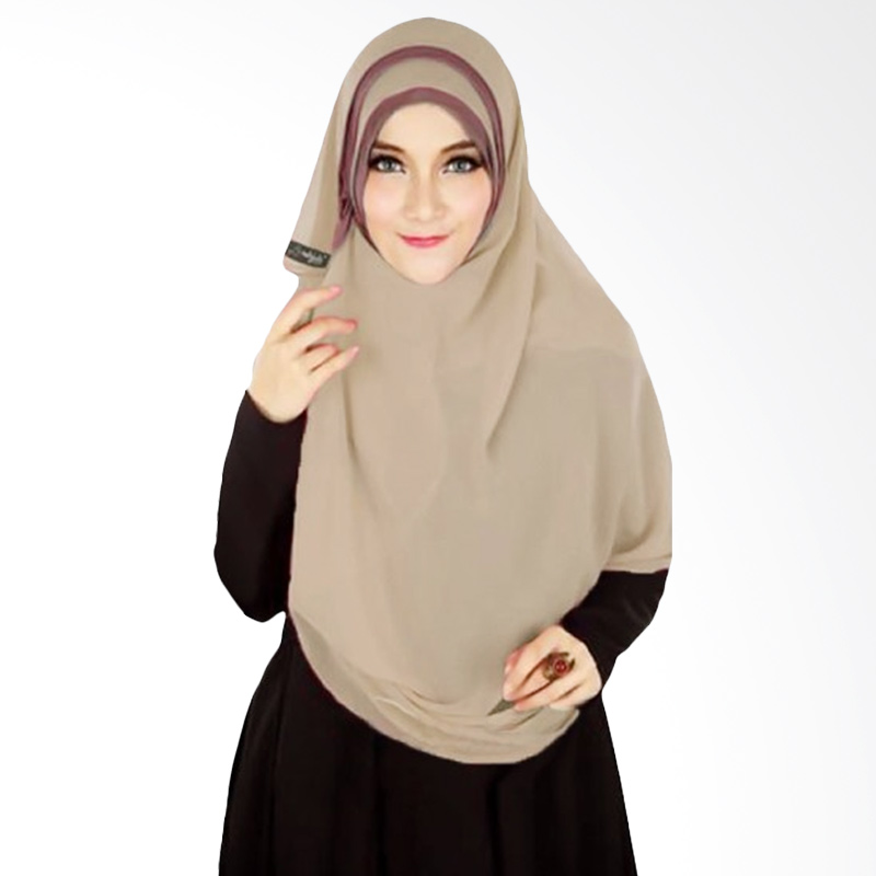 Milyarda Hijab Athalia Kerudung Syar'i - cream