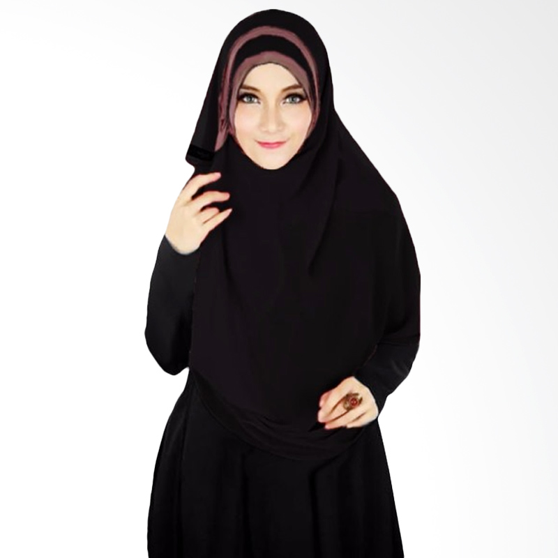 Milyarda Hijab Athalia Kerudung Syar'i - Hitam
