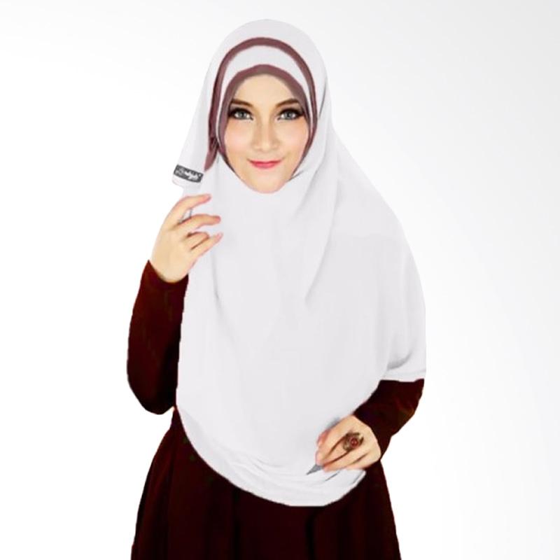 Milyarda Hijab Athalia Kerudung Syar'i - Putih