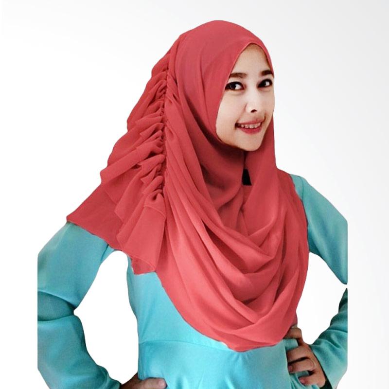 Milyarda Hijab Cassanova Kerudung - Maroon