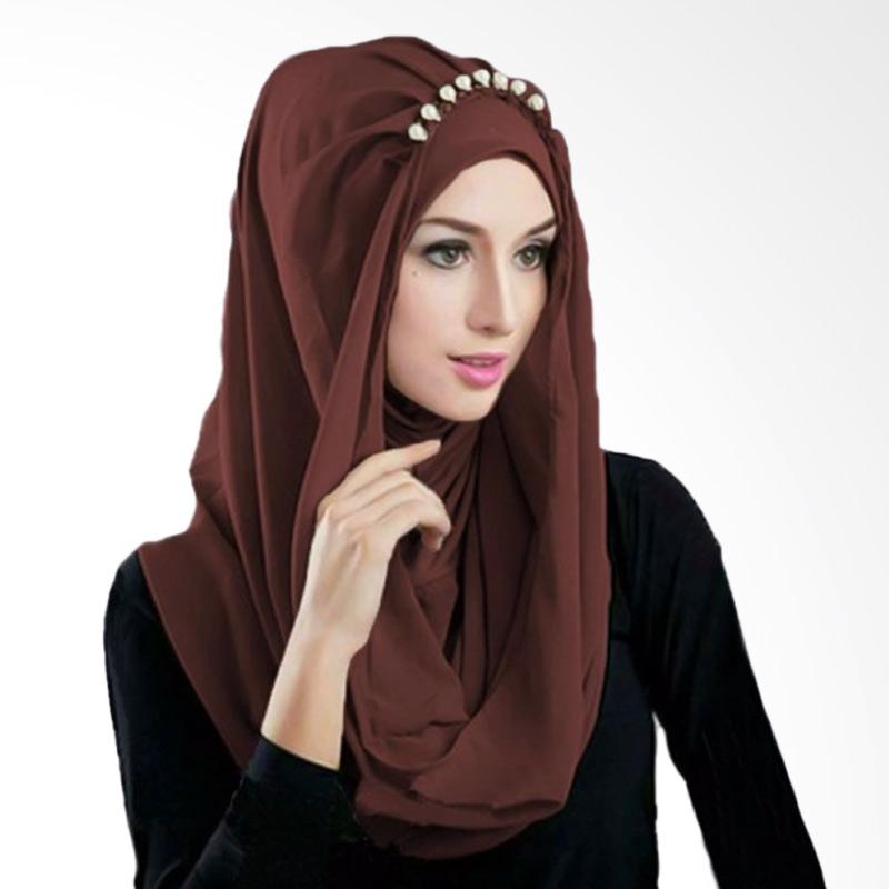 Milyarda Hijab Deeja Prealy - Coklat
