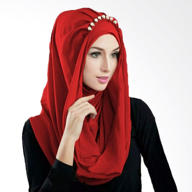 Milyarda Hijab Deeja Prealy Bergo - Merah