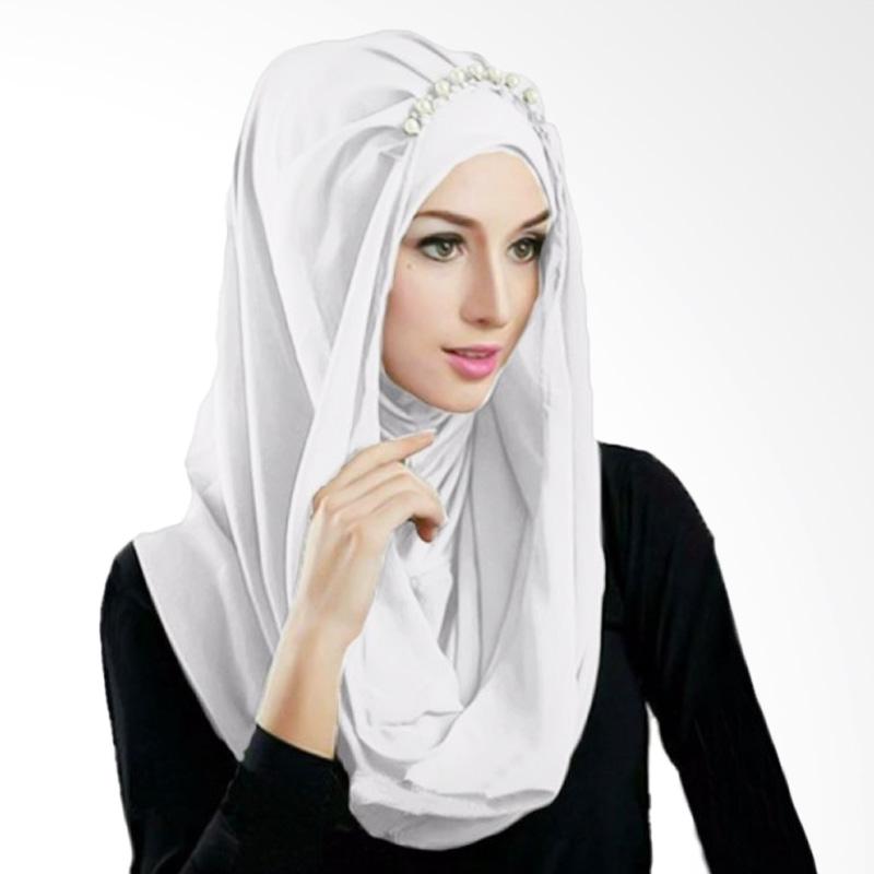 Milyarda Hijab Deeja Prealy Bergo - Putih