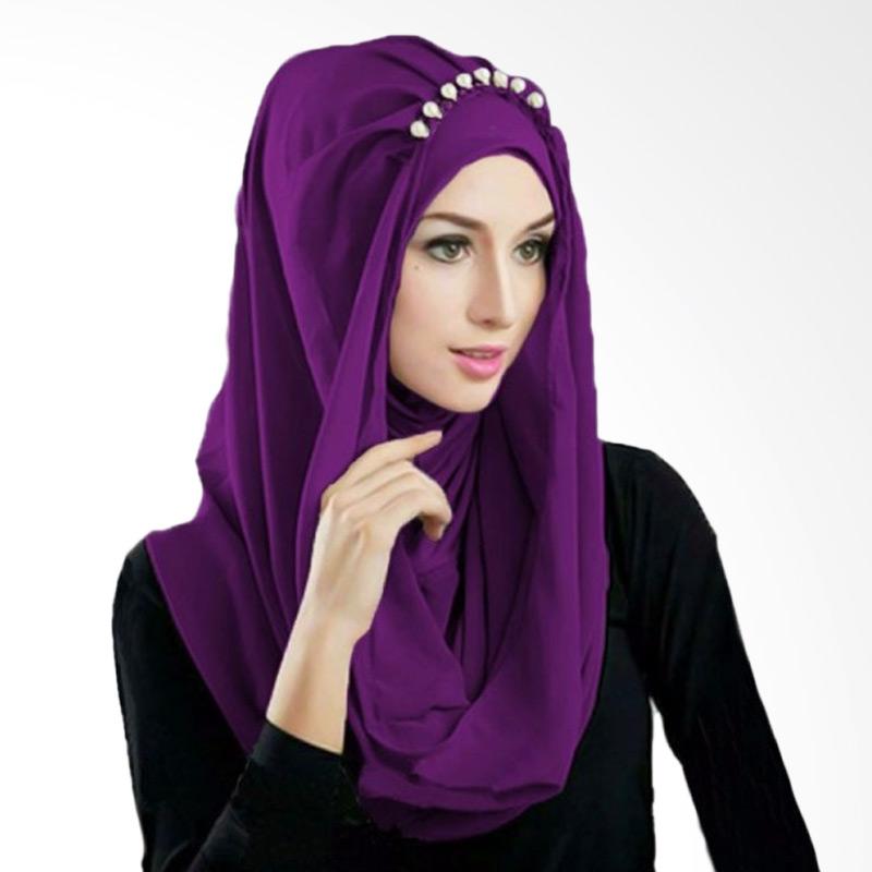 Milyarda Hijab Deeja Prealy Bergo - Ungu