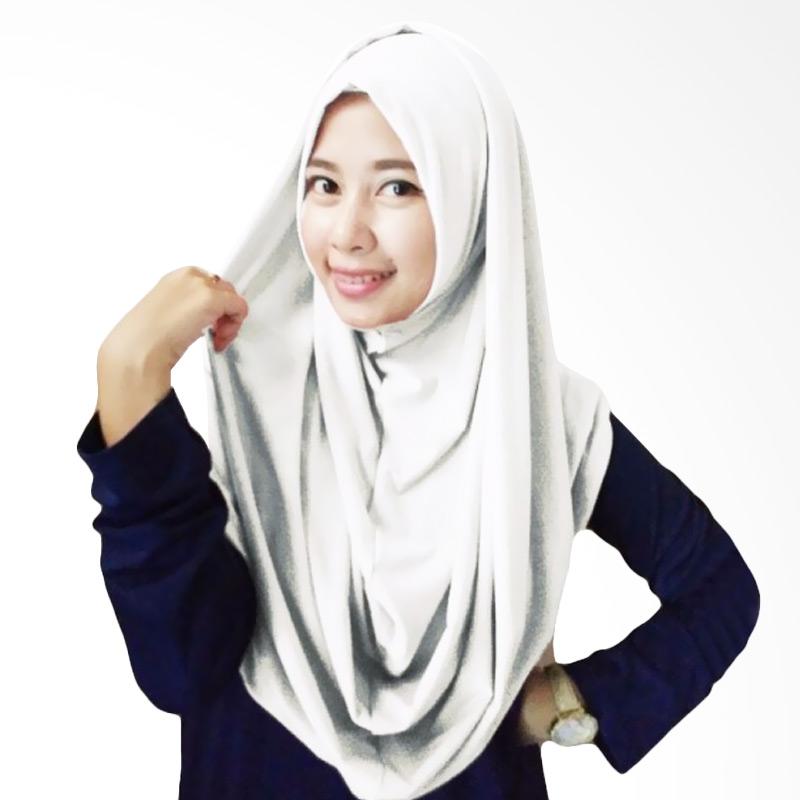 Milyarda Hijab Long Syria Kerudung - Putih