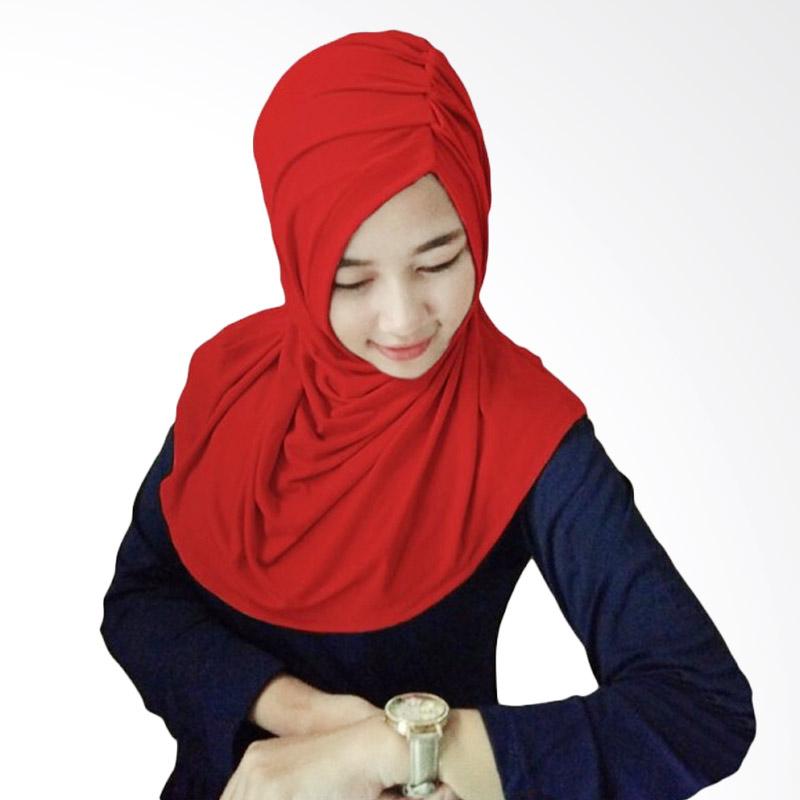 Milyarda Hijab Medira - Merah