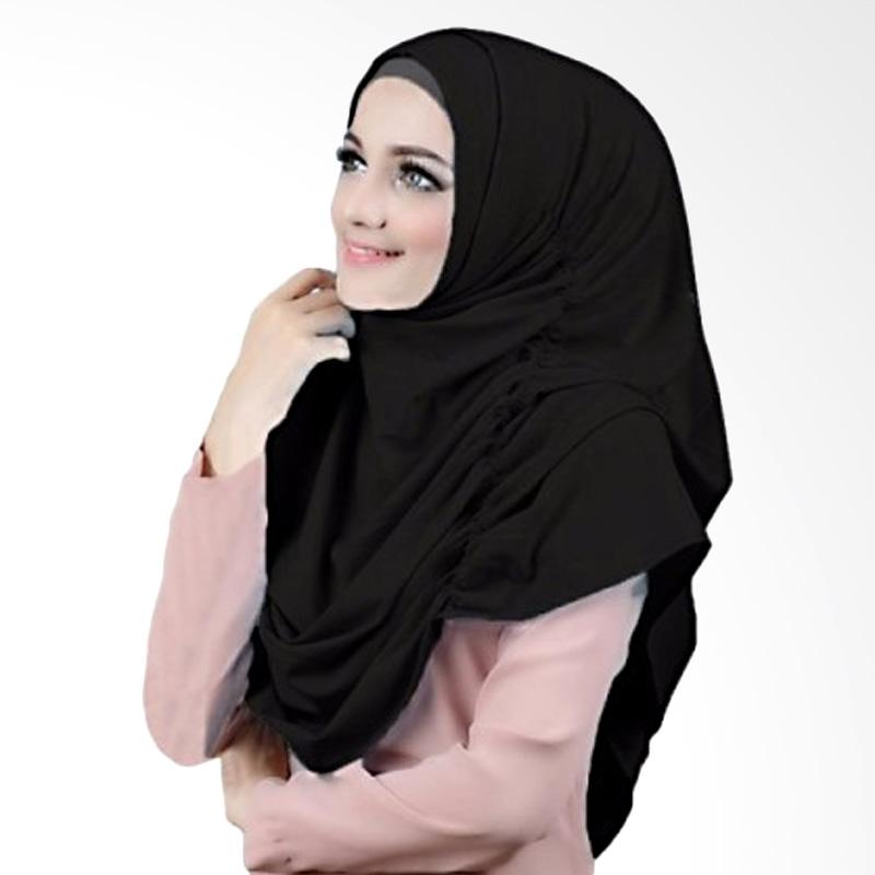 Milyarda Hijab Narinda Kerudung Syar'i - Hitam