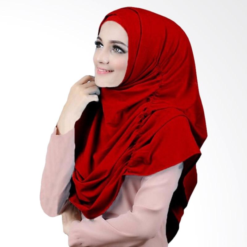 Milyarda Hijab Narinda Kerudung Syar'i - Merah