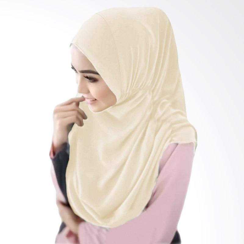 Milyarda Hijab Nurjannah Bergo - Cream
