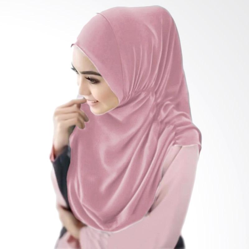 Milyarda Hijab Nurjannah Bergo - Dusty Pink