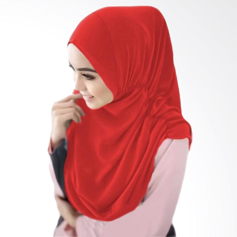 Milyarda Hijab Nurjannah Bergo - Merah