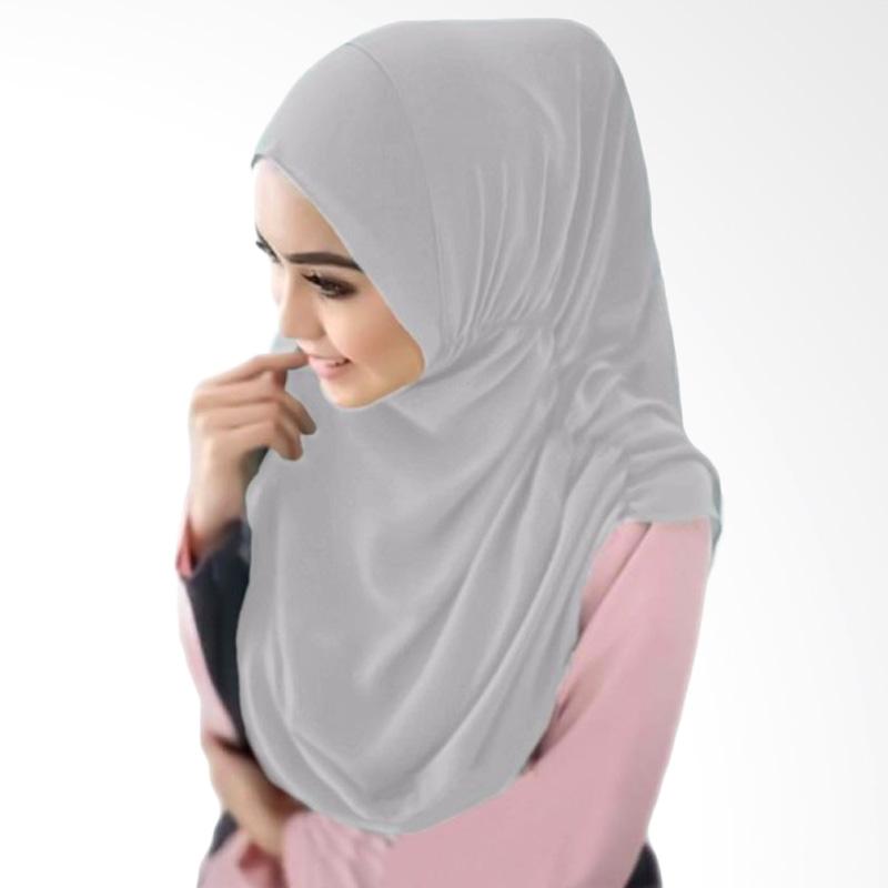 Milyarda Hijab Nurjannah Kerudung - Abu-abu