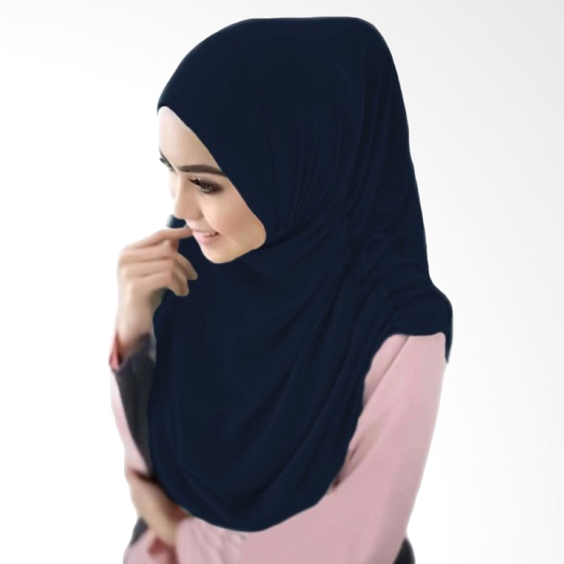 Milyarda Hijab Nurjannah Kerudung - Biru Dongker