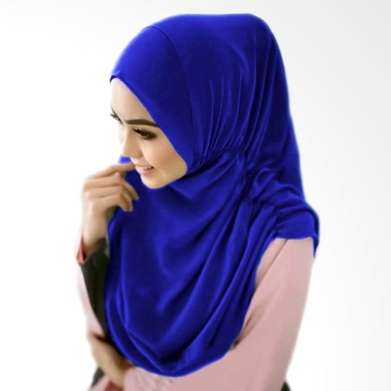 Milyarda Hijab Nurjannah Kerudung - Biru Tua