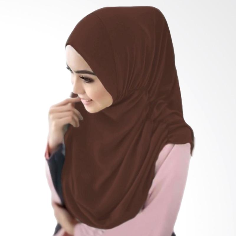 Milyarda Hijab Nurjannah Kerudung - Coklat