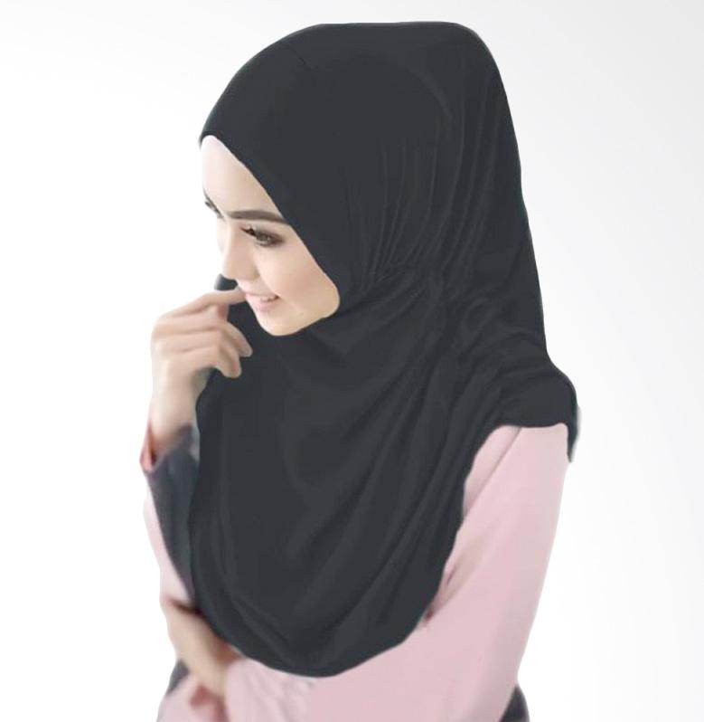 Milyarda Hijab Nurjannah Kerudung - Hitam