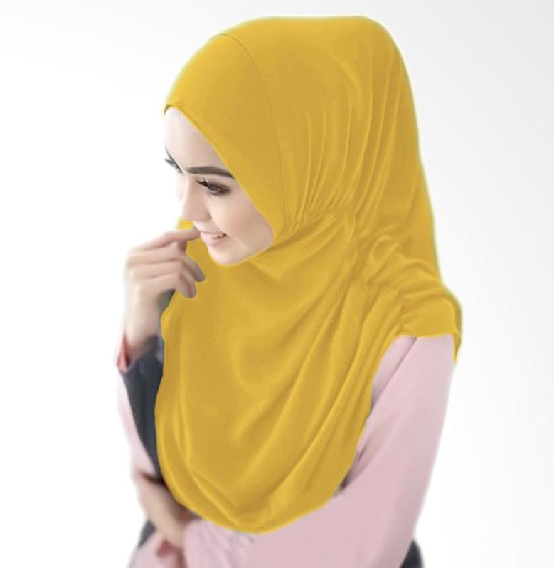 Milyarda Hijab Nurjannah Kerudung - Kuning