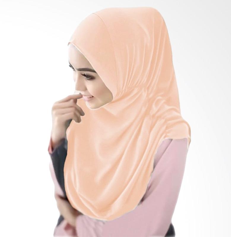 Milyarda Hijab Nurjannah Kerudung - Peach