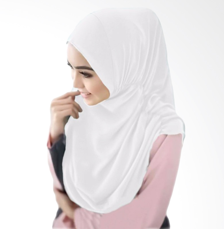 Milyarda Hijab Nurjannah Kerudung - Putih