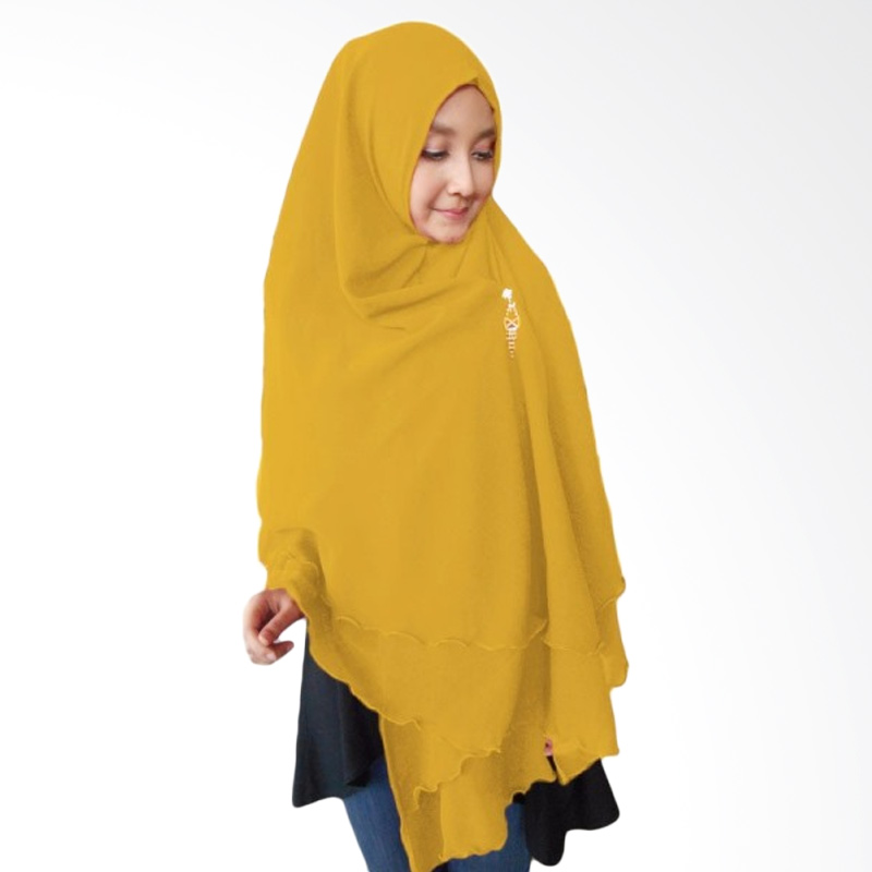Milyarda Hijab Oki Panjang Kerudung Syar'i - Kuning