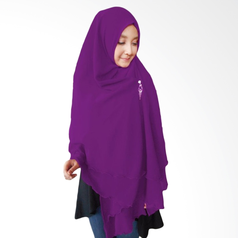 Milyarda Hijab Oki Panjang Kerudung Syar'i - Ungu
