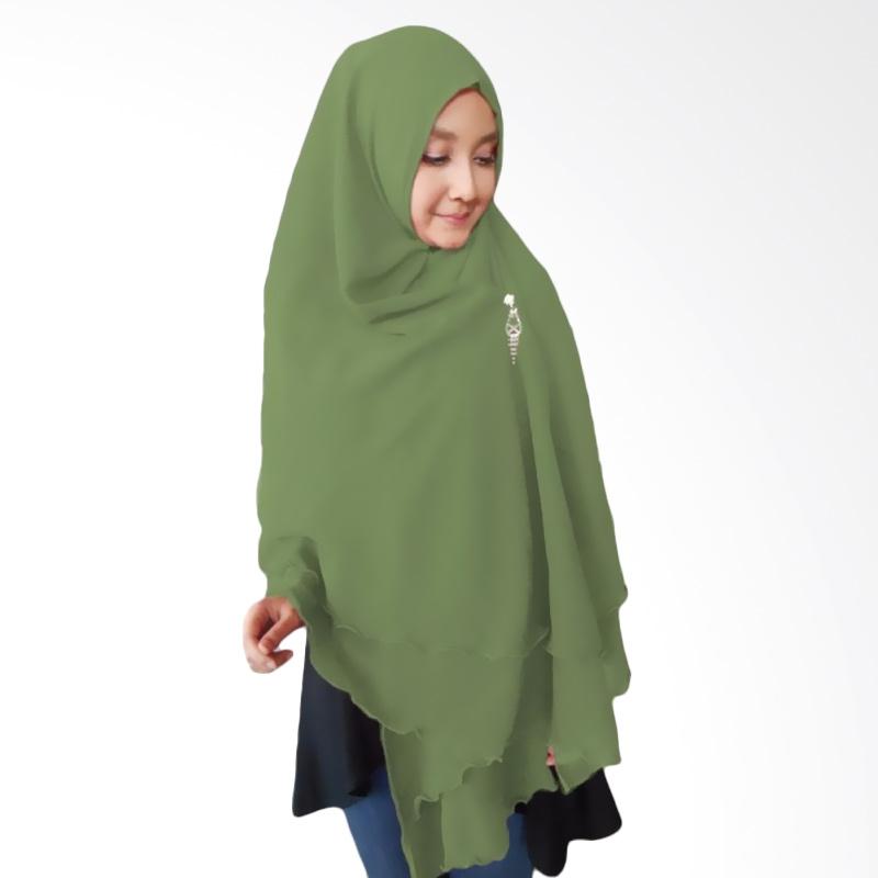 Milyarda Hijab Oki Panjang Kerudung Syar'i - Olive