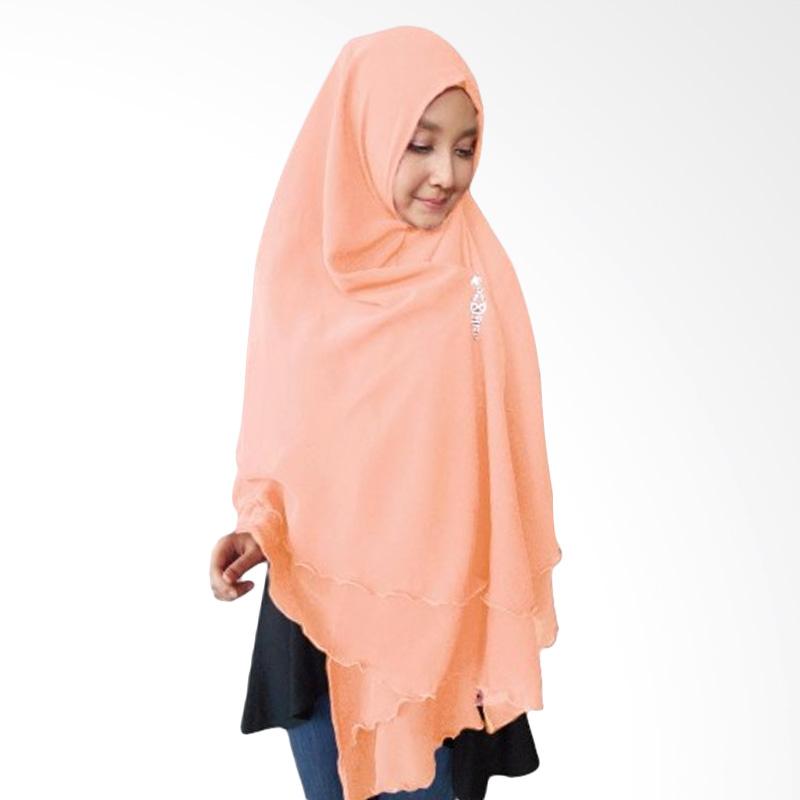 Milyarda Hijab Oki Panjang Kerudung Syar'i - Peach