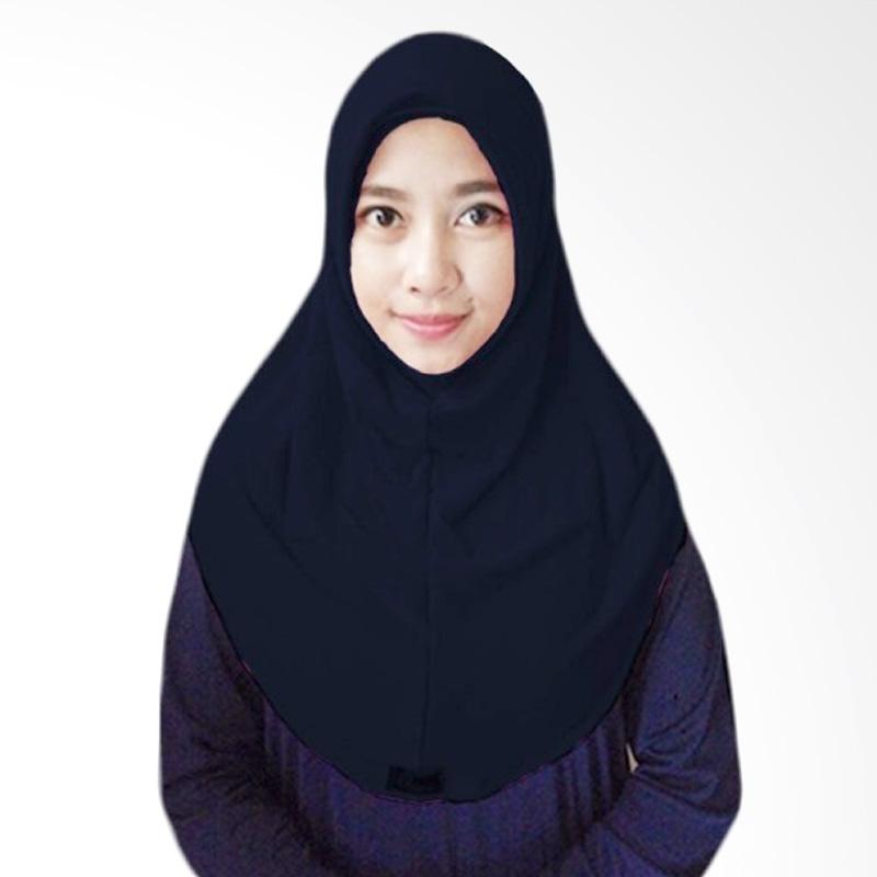 Milyarda Hijab Short Syria Kerudung - Hitam