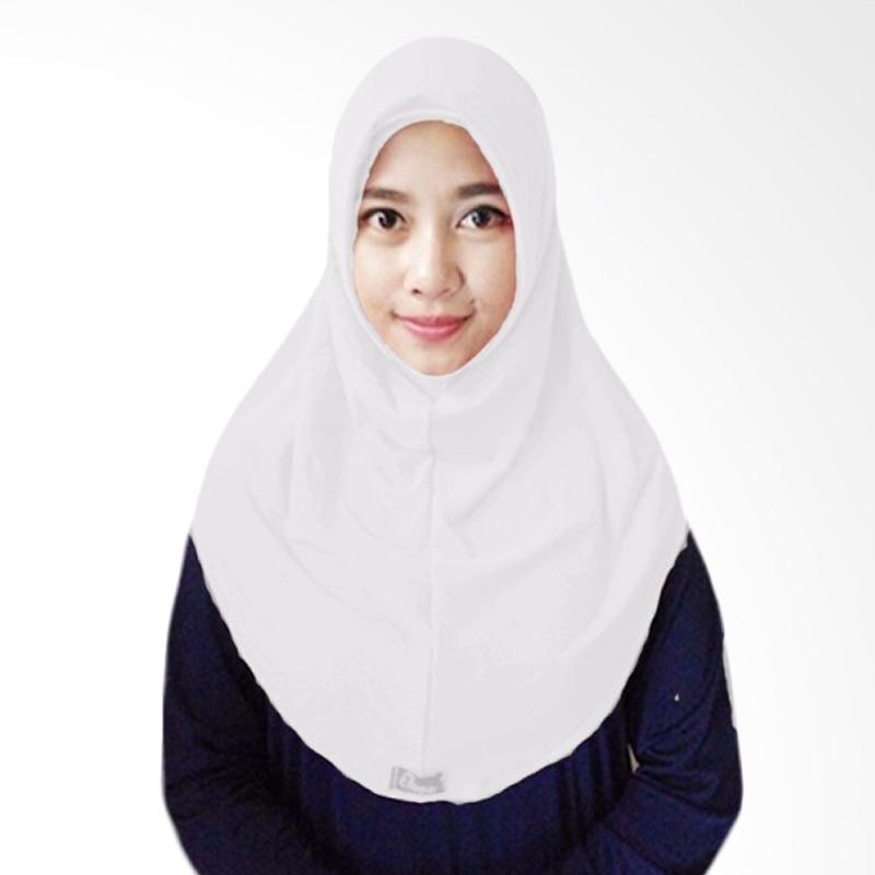 Milyarda Hijab Short Syria Kerudung - Putih