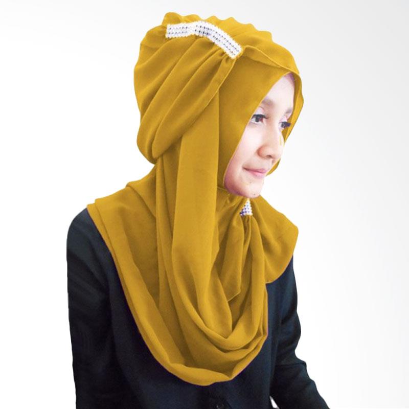 Milyarda Ring Hijab - Kuning