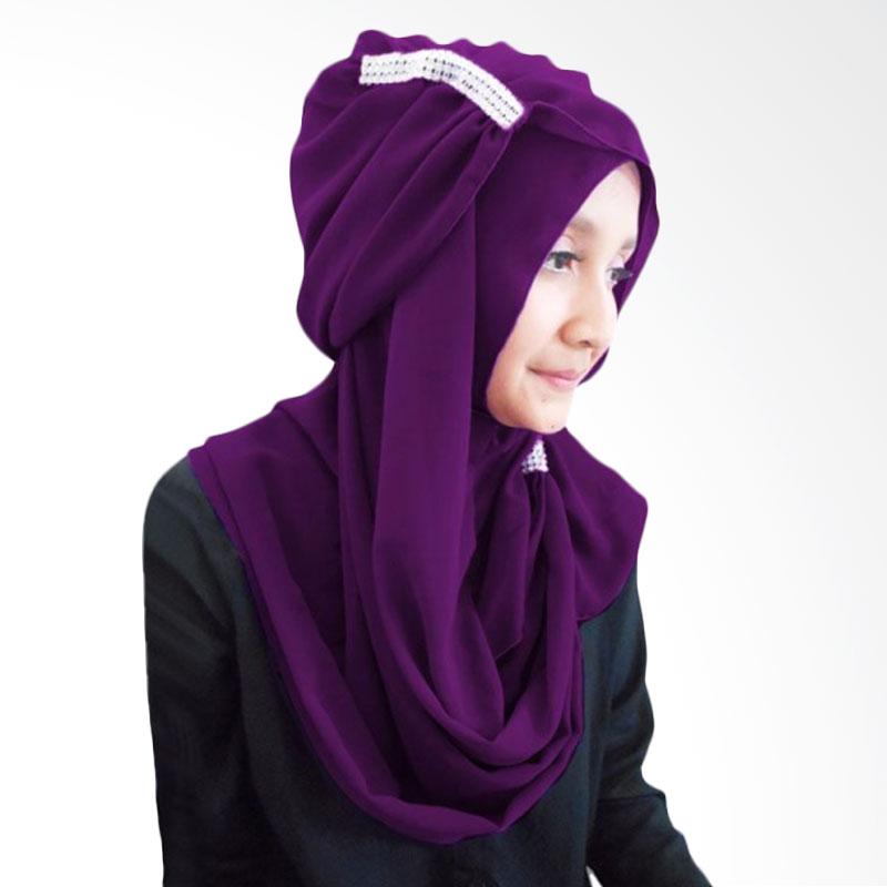 Milyarda Ring Hijab - Ungu