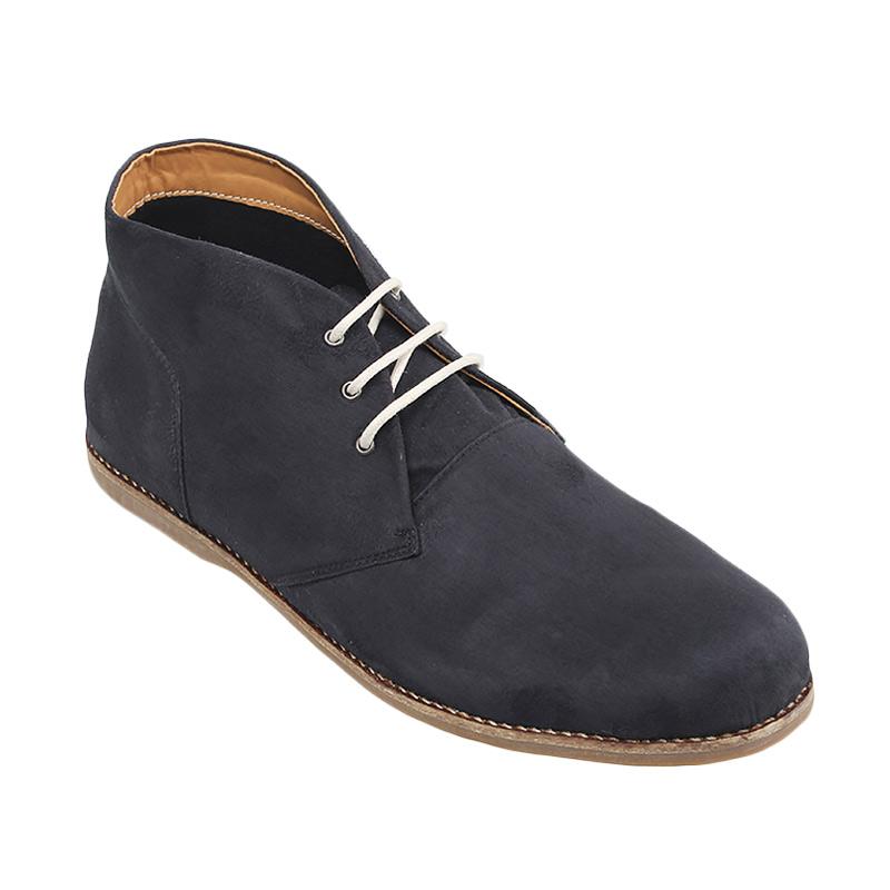 Minarno Black Suede Boots ADN022
