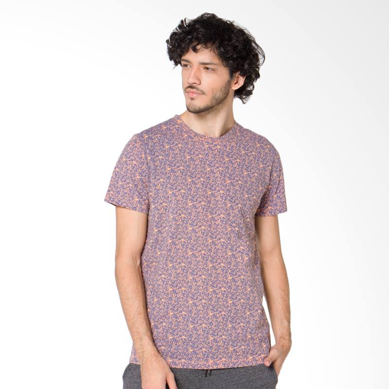 Minarno Floral Print S-S Tee T-Shirt - Orange Extra diskon 7% setiap hari Extra diskon 5% setiap hari Citibank – lebih hemat 10%