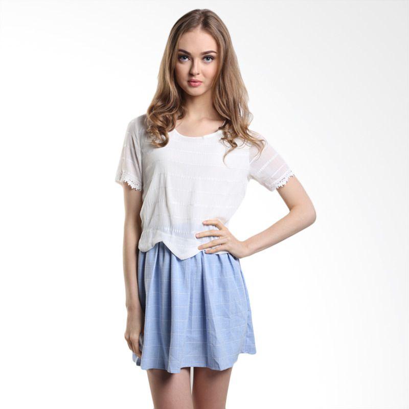 MINEOLA Mini Dress + Rope 4-1508402f Blue Mini Dress