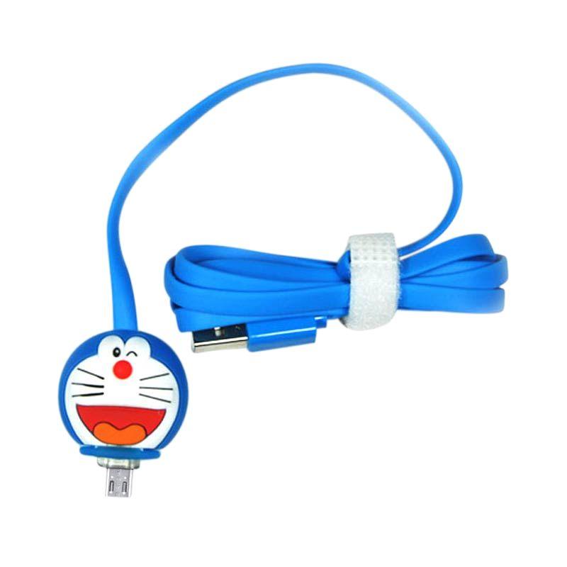 Miracle Shop Doraemon Biru USB Data Cable