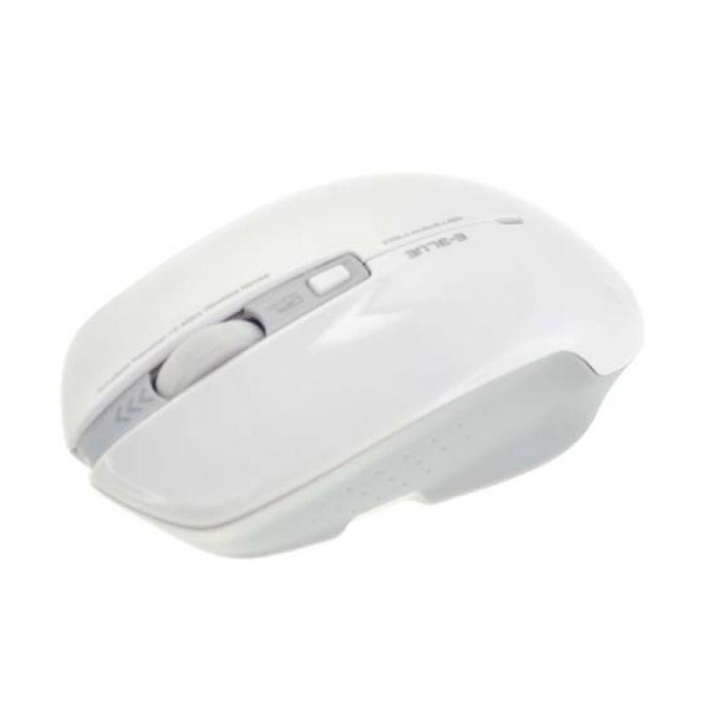 E-Blue EcoPack SMARTE II White Wireless Optical Mouse