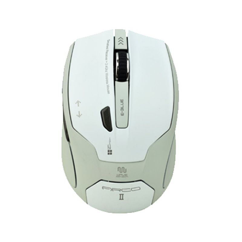 E-Blue EMS100WH Arco II Putih Wireless Mouse