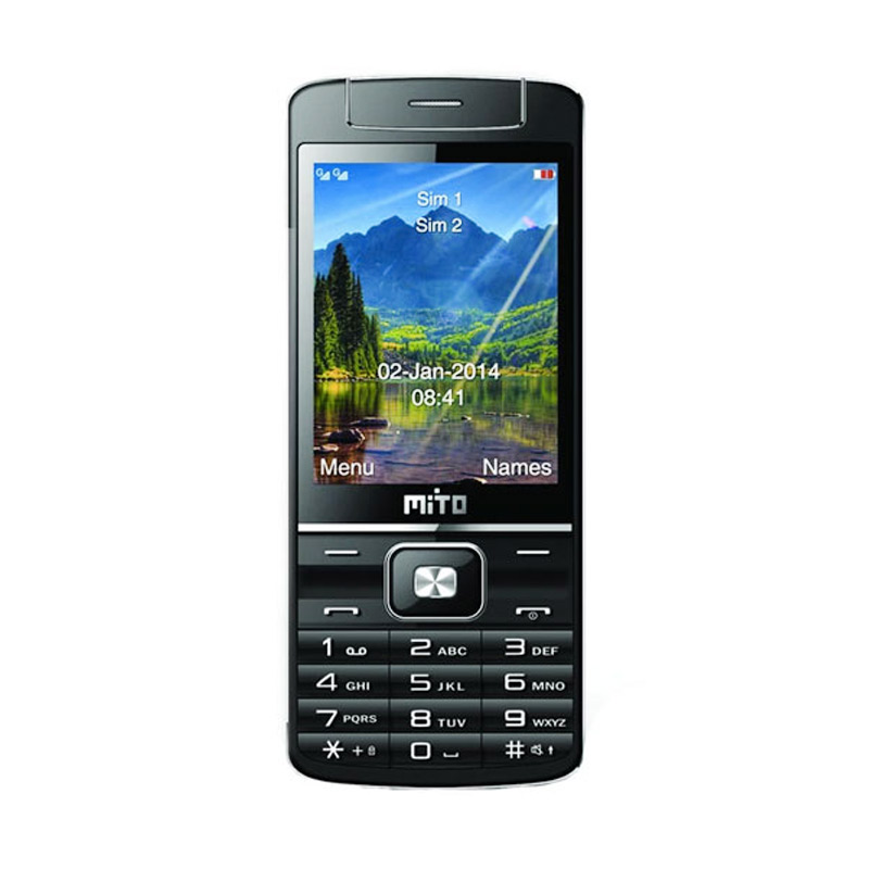 Mito 119 Rotate Camera Handphone - Black ...