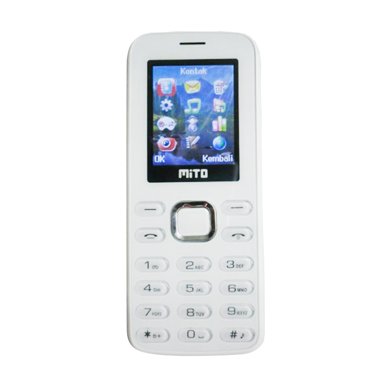Mito 200 Handphone - Putih